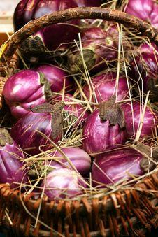 Free Eggplants Stock Image - 1273761