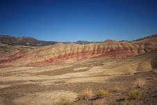 Painted Hills Desert Royalty Free Stock Images