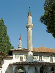 Free Minaret Royalty Free Stock Image - 1275856