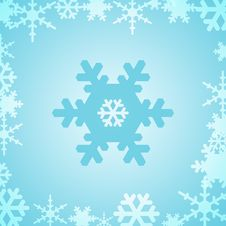 Free WINTER BACKGROUND Stock Image - 1276301