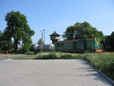 Free Old Diesel Locomotive Stock Image - 1276321