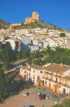 Free Castle Pueblo Blanco Stock Photos - 1276453