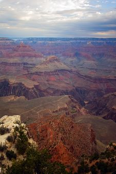 Free Scenic View Of Grand Canyon Stock Photos - 1277403
