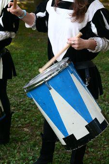 Free Drum Playe Royalty Free Stock Images - 1277509