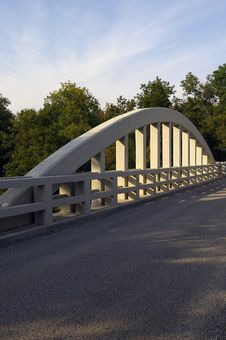 Concrete Bridge Arch Stock Photos