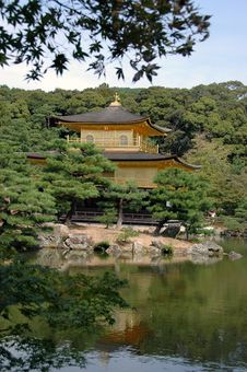 Free The Golden Pavilion Stock Image - 1279681