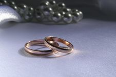 Free Wedding Rings Royalty Free Stock Photos - 1279768