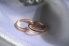 Free Wedding Rings Royalty Free Stock Photo - 1279805