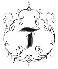 Free T Ornamental Letter Royalty Free Stock Photography - 12700177