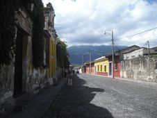 Antigua Guatemala The Colonial City Located In Sacatepequez, Guatemala, Central America Royalty Free Stock Photography
