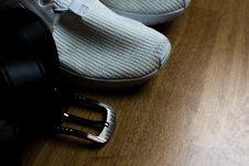 Free Black Leather Belt Stock Photography - 127260112