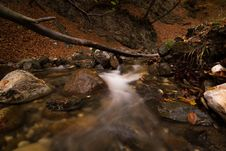 Free Long Exposure Photography Of River Stock Photography - 127260272