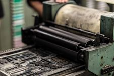 Free Green And Black Industrial Machine Stock Image - 127260321