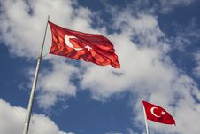 Free Photography Of Two Turkey Flags Stock Photo - 127260360