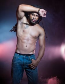 Free Topless Man Stock Image - 127260561