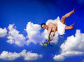 Free Flying Cupid Stock Image - 12731941