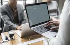 Free Selective Focus Photography Of Person Using Laptop Stock Photo - 127552140
