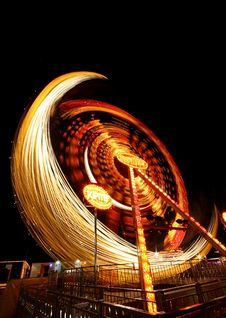 Free Steel Wool Amusement Park Ride Stock Image - 127649531