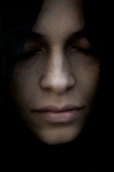 Free Woman With Black Hair Closeup Photography Stock Photos - 127649633