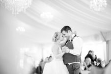 Free Grayscale Photo Of Couple Dancing Stock Image - 127650321