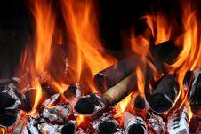 Free Ash, Blaze, Bonfire Stock Images - 127767114