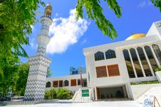 Free White Painted Mosque Royalty Free Stock Photo - 127767245