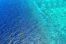 Free Bird S Eye View Of Sea Water Royalty Free Stock Photography - 127767297