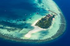 Free Bird S Eye View Of Island Stock Images - 127767324