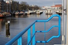 Free A Door In Amsterdam Stock Images - 12788474