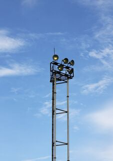 Free Spotlight Tower Stock Photo - 12798830