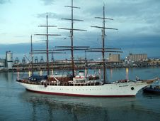 Free Tall Ship, Sailing Ship, Ship, Water Transportation Stock Images - 127904734