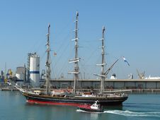 Free Tall Ship, Sailing Ship, Ship, Barque Royalty Free Stock Images - 127904769