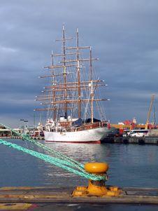 Free Tall Ship, Sailing Ship, Ship, Waterway Stock Photography - 127904782