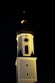 Free Lighting, Night, Clock Tower, Light Fixture Stock Images - 127904944
