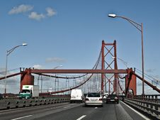 Free Bridge, Fixed Link, Skyway, Cable Stayed Bridge Stock Images - 127905204