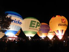 Free Hot Air Ballooning, Hot Air Balloon, Balloon, Night Stock Photography - 127905232