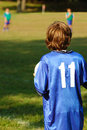 Free Boy With Soccer Ball Stock Images - 1283114