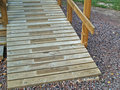 Free Washed Wooden Stair Royalty Free Stock Image - 1284846