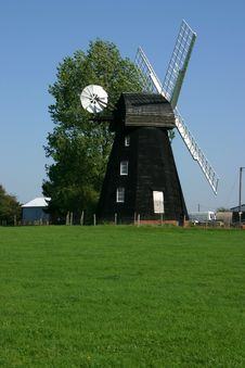 Free Lacey Green Windmill Stock Image - 1280601
