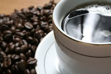 Free Coffee A Break Royalty Free Stock Photography - 1282787