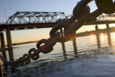 Free Chain And Bridge Stock Photo - 1282910