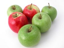Free Fresh Crunchy Apples Stock Image - 1283801