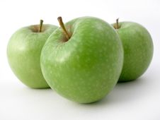 Free Fresh Crunchy Apples Royalty Free Stock Photography - 1283827