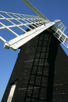 Free Lacey Green Windmill Close Up Royalty Free Stock Photos - 1284318
