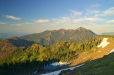 Free Mountain Landscape Stock Photography - 1284842