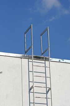 Industrial Ladder Royalty Free Stock Photography