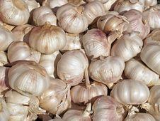 Free Pile Of Garlic Royalty Free Stock Image - 1285036