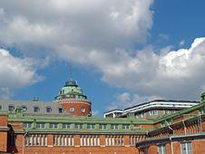 Free Helsinki Marketplace Roofs Stock Image - 1285041