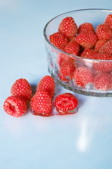Free Red Raspberries Royalty Free Stock Image - 1286376