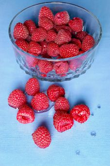Free Red Raspberries Stock Images - 1286404